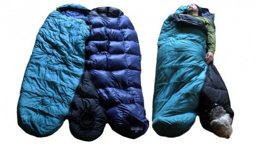 BarkerBag sleeping bag lets dog owners and man's best friend share body heat