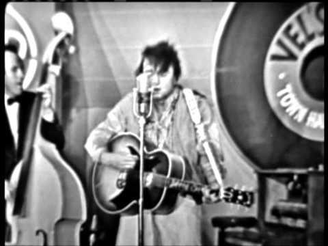 Johnny Cash   impersonating Elvis