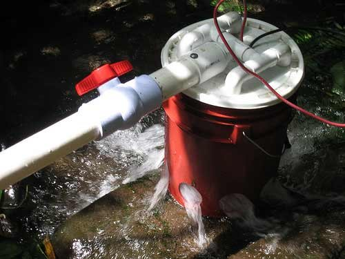 How To Make A 5 Gallon Bucket Hydroelectric Generator - SHTF Preparedness