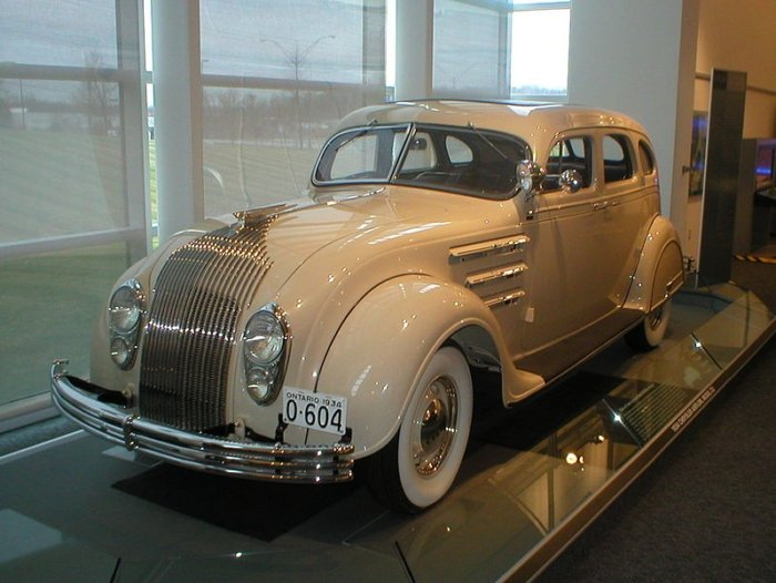 The Chrysler Airflow  – A Car Ahead of Its Time