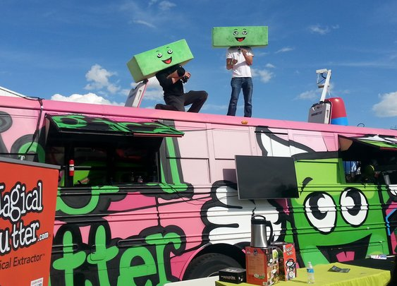 The Latest Food Truck Theme Is Marijuana For Lunch : The Salt : NPR