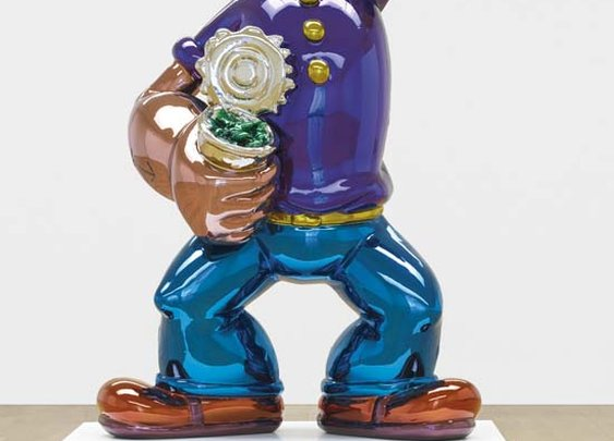 Popeye by Jeff Koons Sells for $28 Million At Sotheby's