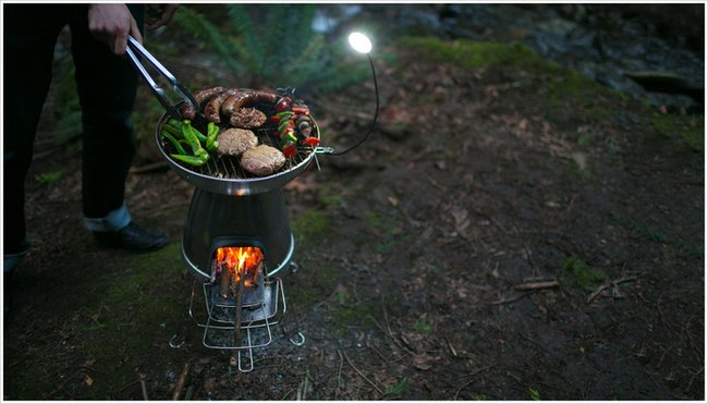 BioLite BaseCamp Stove | Turn Fire into Electricity by ...