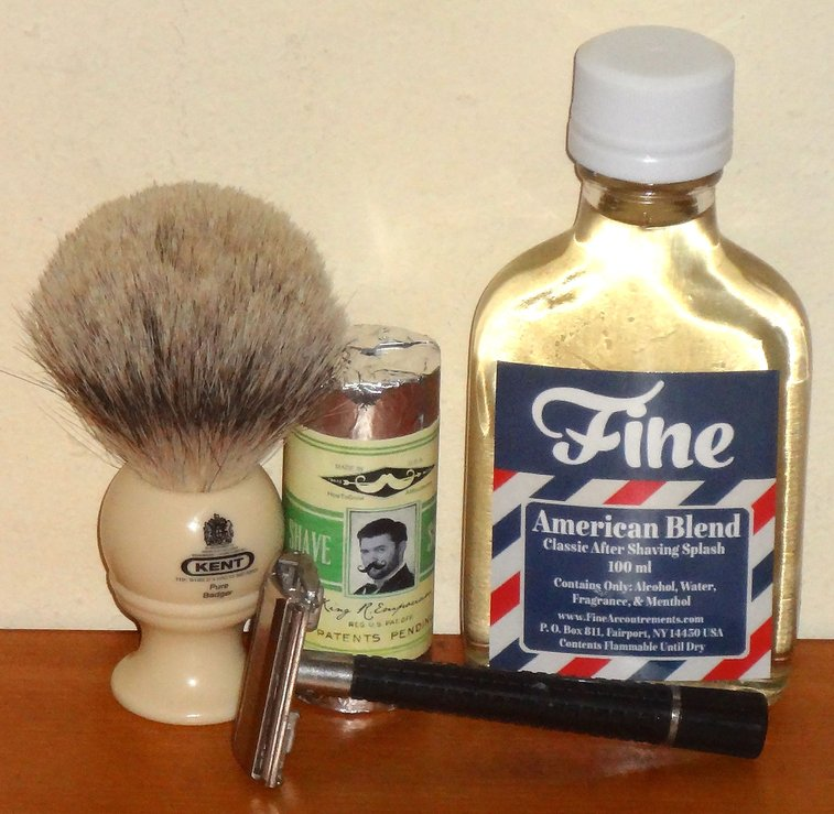 Great shave with Razor Emporium shave stick   Later On