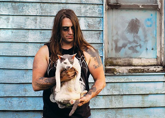 Metal Cats: Hardcore Metal Musicians Pose With Their Cats | Bored Panda