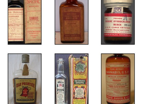 Old Medicine Bottles | Cool Material