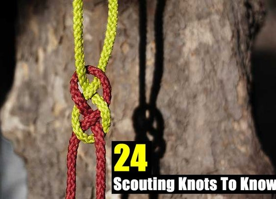 24 Scouting Knots To Know - SHTF Preparedness