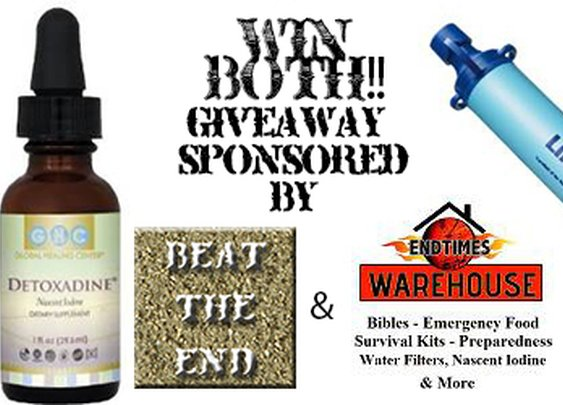 Win a Lifestraw and Detoxadine in our Survival Giveaway! | Beat The End Survival Blog