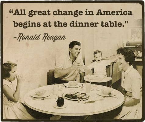 Creating a Positive Family Culture: How to Get the Most Out of Family Dinners | The Art of Manliness