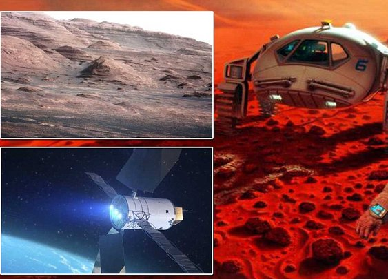 Charles Bolden: NASA chief says manned mission to Mars is 'priority' - and could happen by 2033 | Mail Online