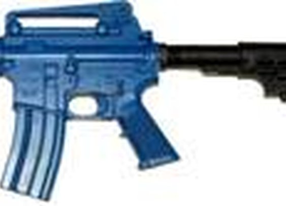 M4 Blue Training Gun with adjustable stock now available! | On Duty Gear Blog