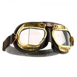 Halcyon Goggles MK9 Antique Unpolished Brass
