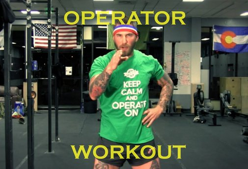 How To Workout Like An Operator