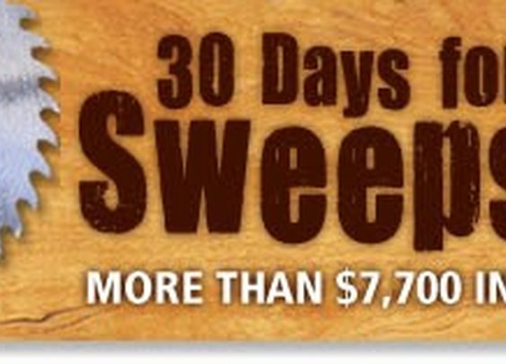 2014 Popular Woodworking 30 Days for Dad Sweepstakes | Popular Woodworking Magazine