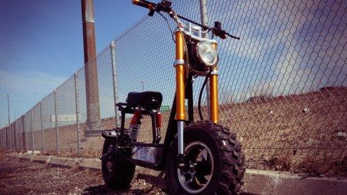 The Beast solar-powered e-bike built for off-road adventure