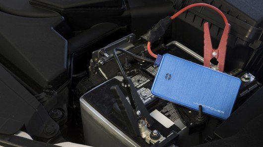 Pocket-sized Jumpr can jump start your car, and charge your phone