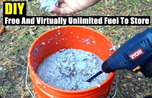 DIY Free And Virtually Unlimited Fuel To Store - SHTF Preparedness