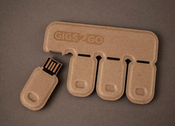 Gigs 2 Go Flash Drive