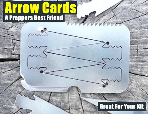Arrow Cards - A Preppers Best Friend - SHTF Preparedness