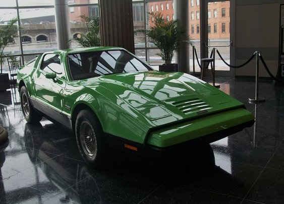 Bricklin, the Safety Sports Car