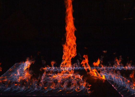 Fire, in Slow Motion