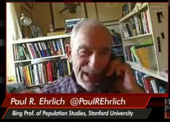 Alarmist Paul Ehrlich Predicts Need to 'Eat the Bodies of Your Dead' | NewsBusters