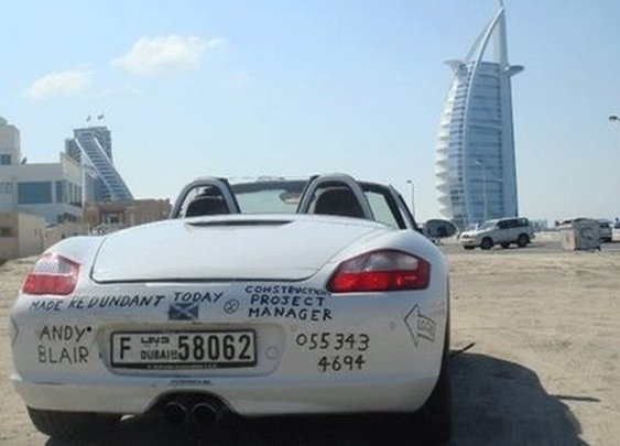 Debt Penalty: Top 10 Abandoned Luxury Cars Of The UAE
