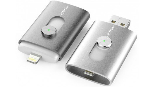 iStick flash drive plays nice with the iPhone