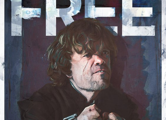 Free Tyrion: Fantastic Game of Thrones Season 4 Poster