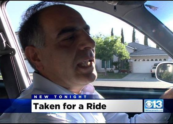 Sacramento Cabbie Allegedly Stiffed After 1,500 Mile Fare To North Dakota « CBS Sacramento