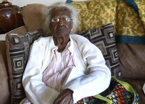 Oldest living American Jeralean Talley turns 115 years young | Mail Online