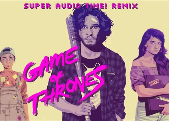 Game Of Thrones Main Theme - Super Audio Time! 1986 Remix - YouTube
