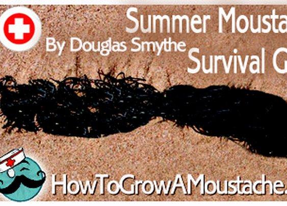 Summer Moustache Survival Guide | How to Grow a Moustache