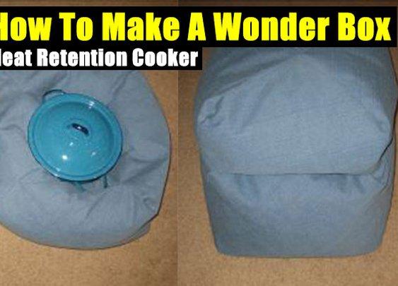 How To Make A Wonder Box - Heat Retention Cooker - SHTF Preparedness
