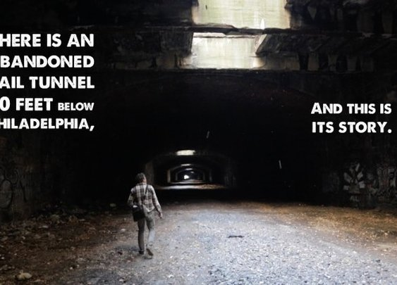 PBS Explores an Abandoned Philadelphia Railroad Tunnel That Could Become a Public Park