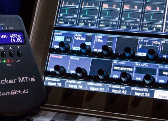 JamHub ships Tracker MT16 multitrack recorder