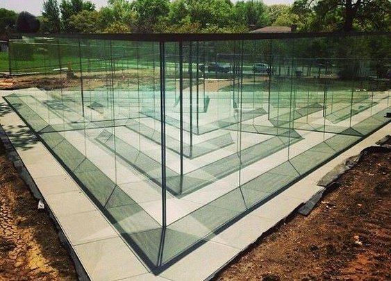 Glass Labyrinth By Famed Artist