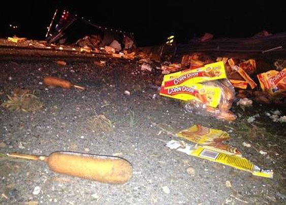 8 Strange Things Trucks Have Spilled (Besides Corndogs) | Mental Floss