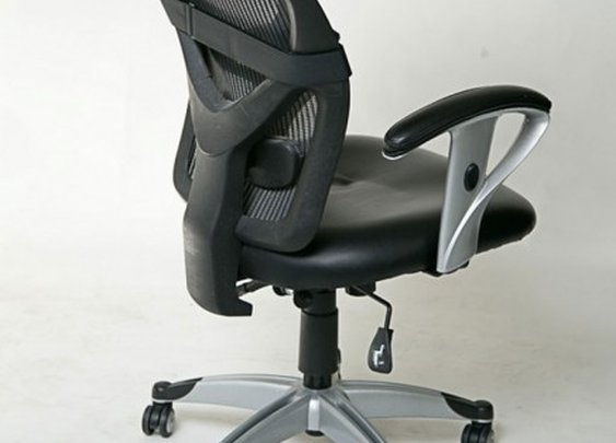 StorkStand turns an office chair into a standing desk