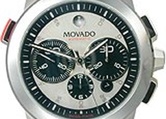 Movado Vizio Sport Chronograph Silver Dial Men's watch