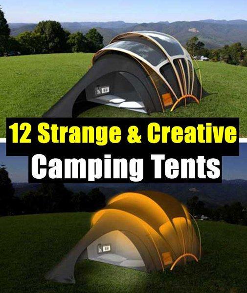 12 Strange and Creative Camping Tents - SHTF Preparedness