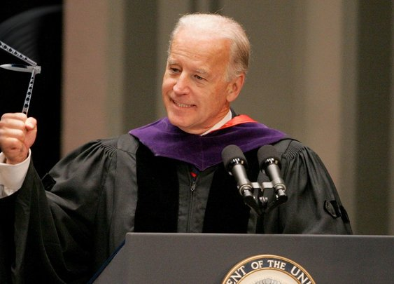Biden Loses Control Of Butterfly Knife During Commencement Speech | The Onion - America's Finest News Source