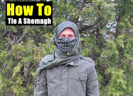 How To Tie A Shemagh For Survival Situations