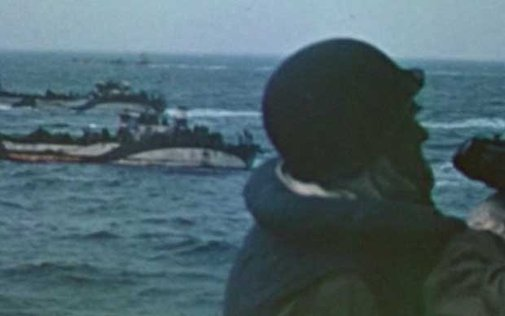 Video: World War Two as you have never seen it: extremely rare colour footage of D-Day invasion released - Telegraph