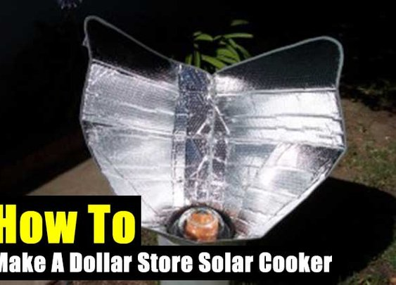 How To Make A Dollar Store Solar Cooker - SHTF Preparedness