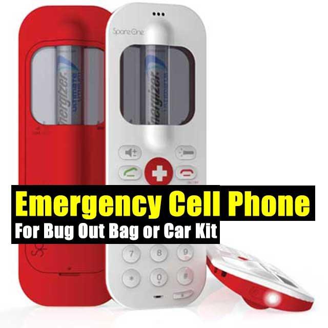 Emergency Cell Phone For Bug Out Bag or Car Kit - SHTF Preparedness
