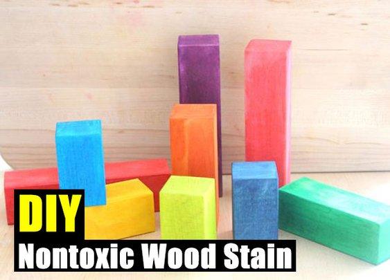 DIY Nontoxic Wood Stain - SHTF Preparedness