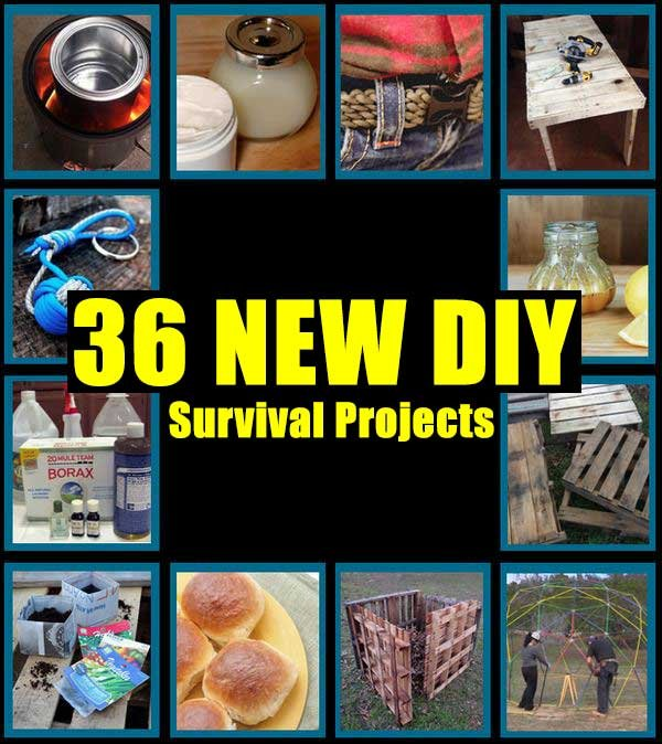36 NEW DIY Survival Projects - SHTF Preparedness
