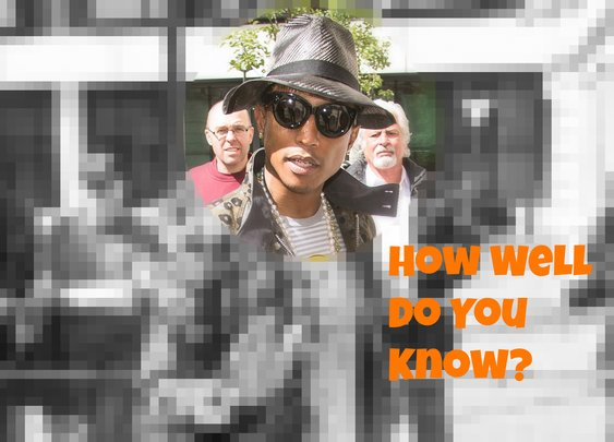 Quiz - How Well Do You Know Pharrell? | DaysTune