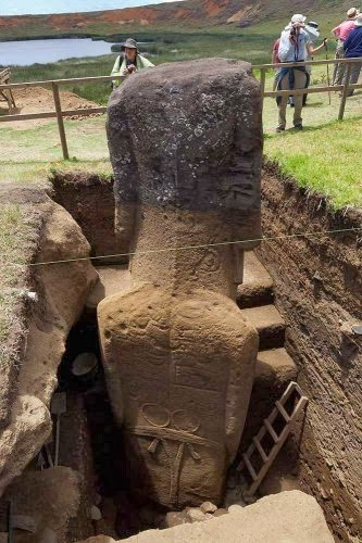 Easter Island's Statues Reveal Bodies Covered With Unknown Ancient Petroglyphs